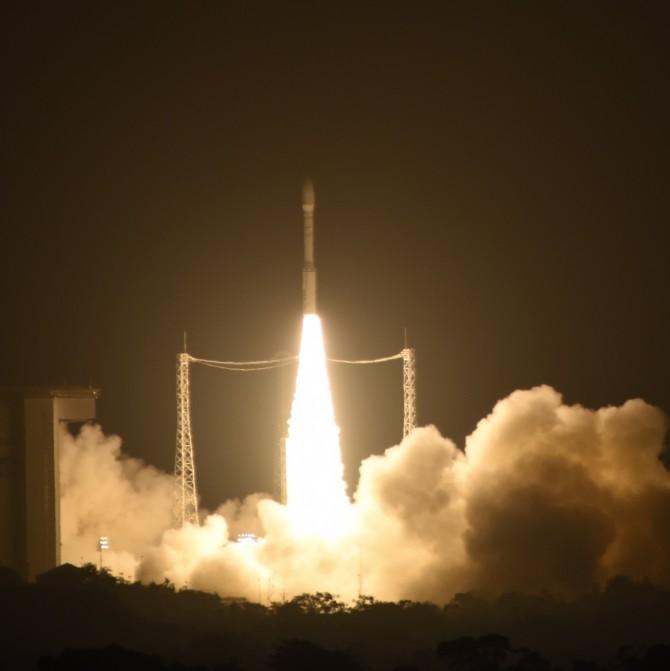 3일 오후 1시 4분(한국시간) 중력파를 검출하기 위한 기술검증 탐사선인